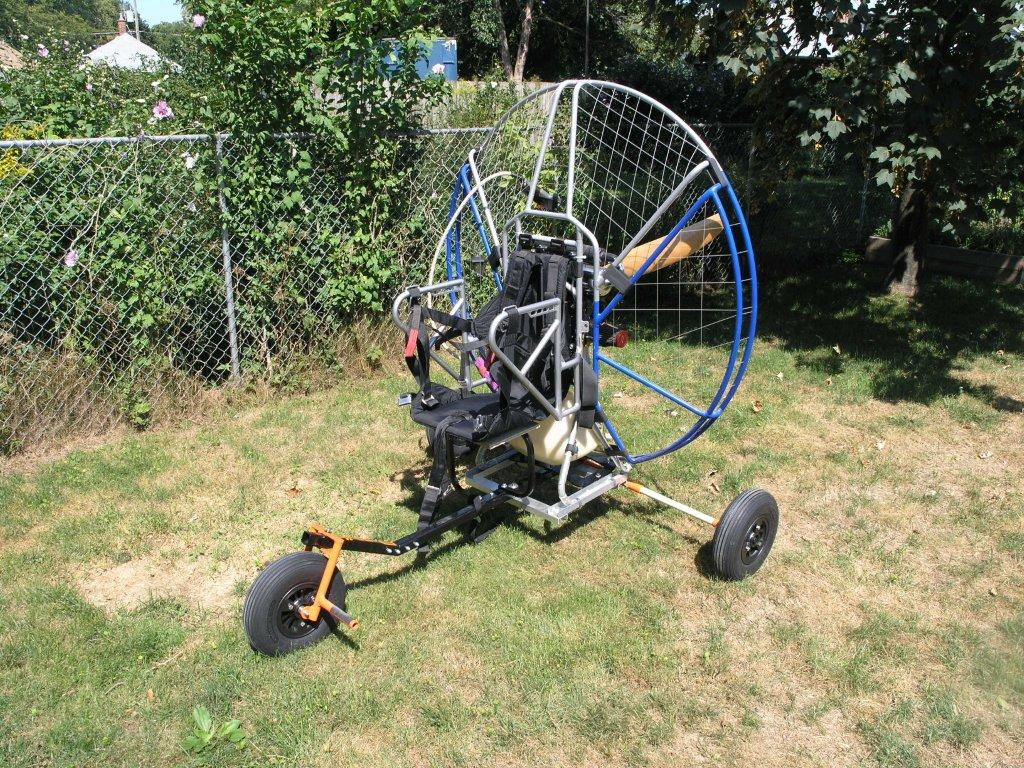 Powered Paragliding Ontario - Used paramotor and used powered paraglider for sale.