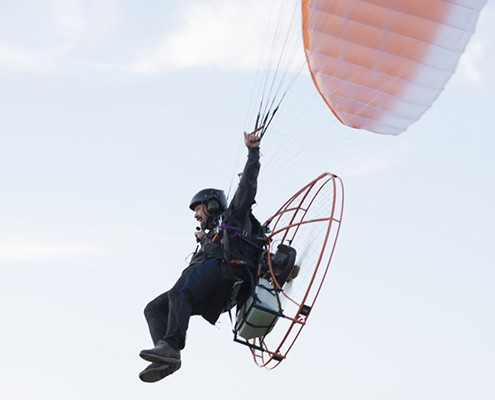 Foot Launch Course Outline Powered Paragliding Ontario